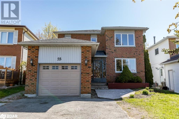 33 ORWELL Crescent, Barrie