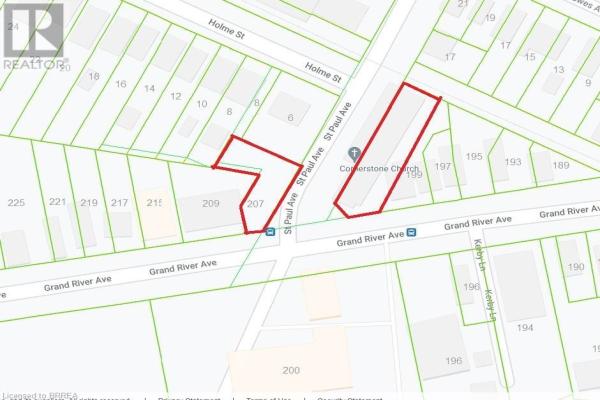 203-207 GRAND RIVER Avenue, Brantford