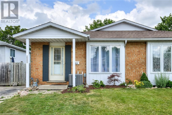 288 CAMILLE Crescent Unit# A, Waterloo
