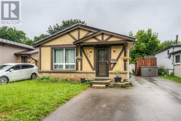 107 COUNTRY HILL Drive, Kitchener