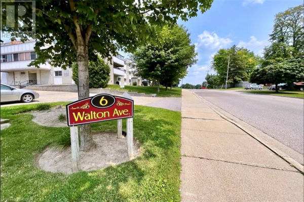 6 WALTON Avenue Unit# 102, Kitchener