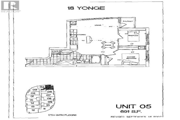 #2105 -18 YONGE ST, Toronto