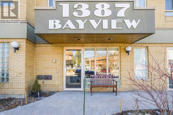 #206 -1387 BAYVIEW AVE, Toronto