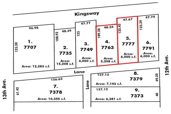 7763-7777 KINGSWAY, Burnaby