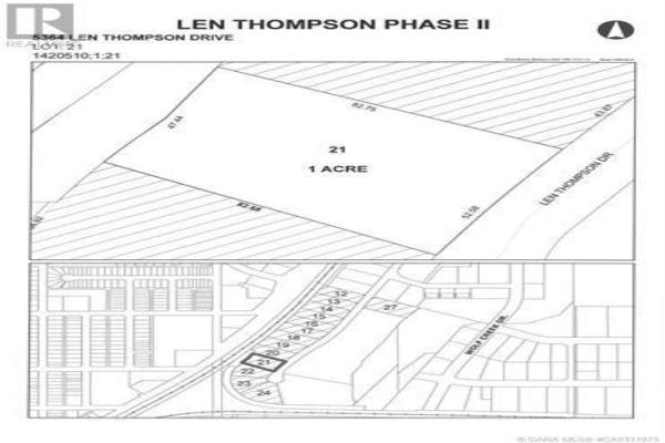 5364 Len Thompson Drive, Lacombe