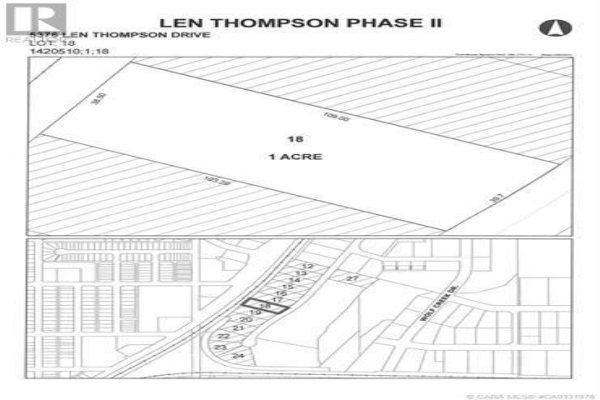 5376 Len Thompson Drive, Lacombe