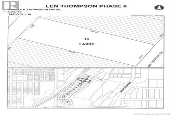 5392 Len Thompson Drive, Lacombe
