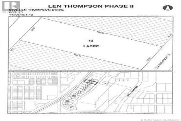 5396 Len Thompson Drive, Lacombe