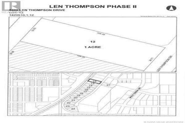 5400 Len Thompson Drive, Lacombe