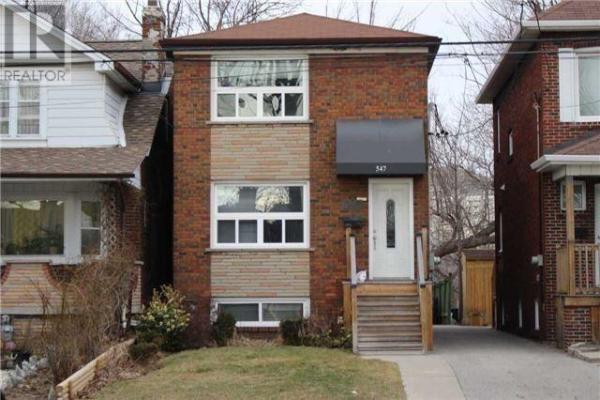 547 DONLANDS AVE, Toronto