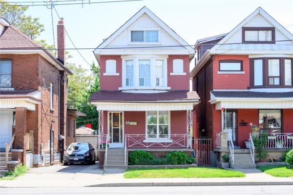 48 SHERMAN Avenue N, Hamilton
