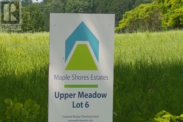 305 Coons RD # Lot 6, Rideau Lakes