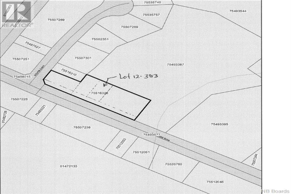 Lot 12-383 St Pierre Drive, Fredericton