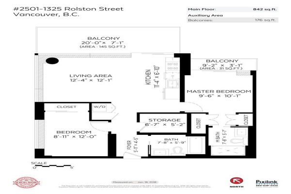 2501 1325 ROLSTON STREET, Vancouver