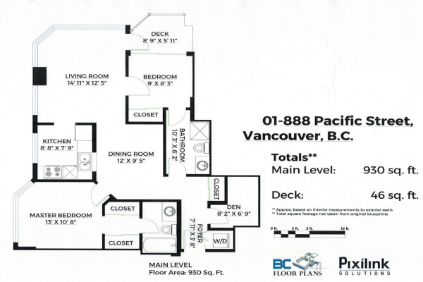 901 888 PACIFIC STREET, Vancouver