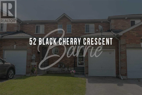 52 BLACK CHERRY CRES, Barrie