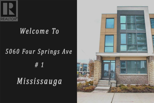 #1 -5060 FOUR SPRINGS AVE, Mississauga