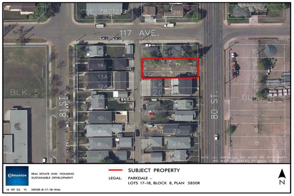 11640 80 Street NW, Edmonton