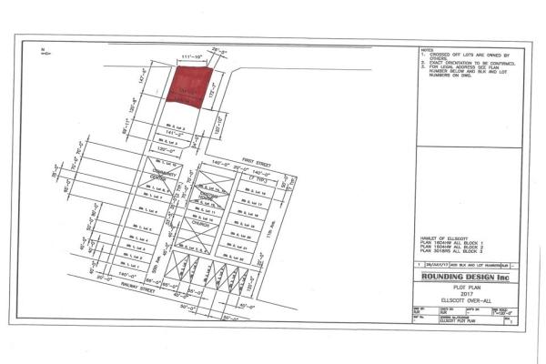 3018RS Block 3 Lot 1, Ellscott