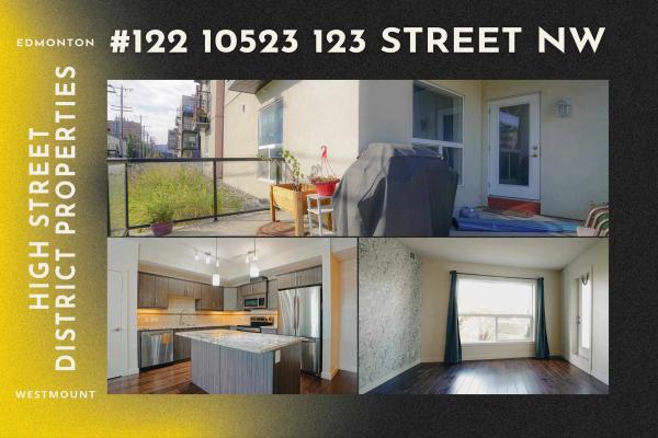 122 10523 123 Street, Edmonton