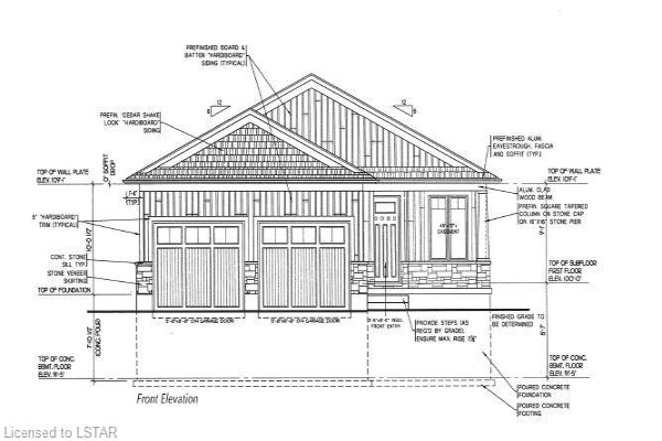 70 DEERFIELD (LOT 14) Road, Grand Bend