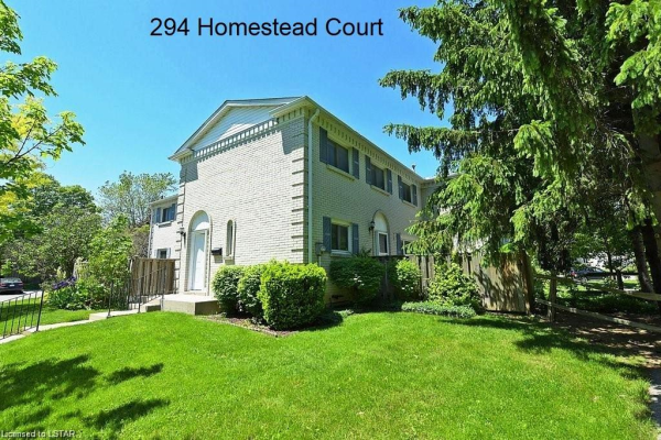 294 HOMESTEAD Court, London