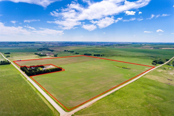 150.88+/- Acres West of Airdrie, Rural Rocky View County