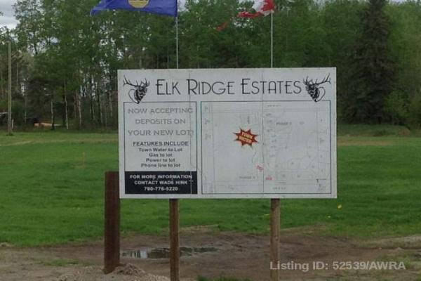 lot5 5 ELK RIDGE ESTATES, Rural Woodlands County