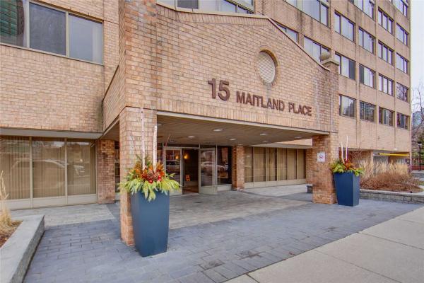15 Maitland Pl, Toronto