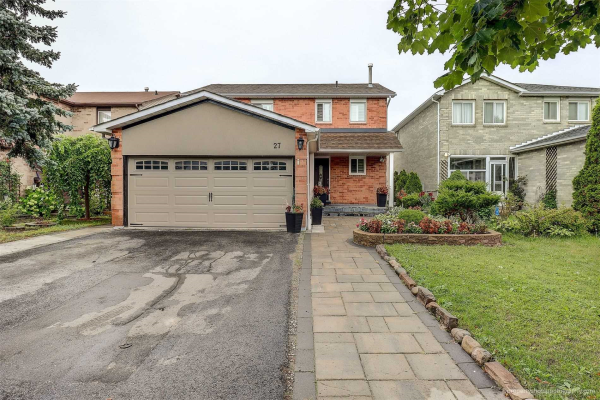 27 Wicks Dr, Ajax