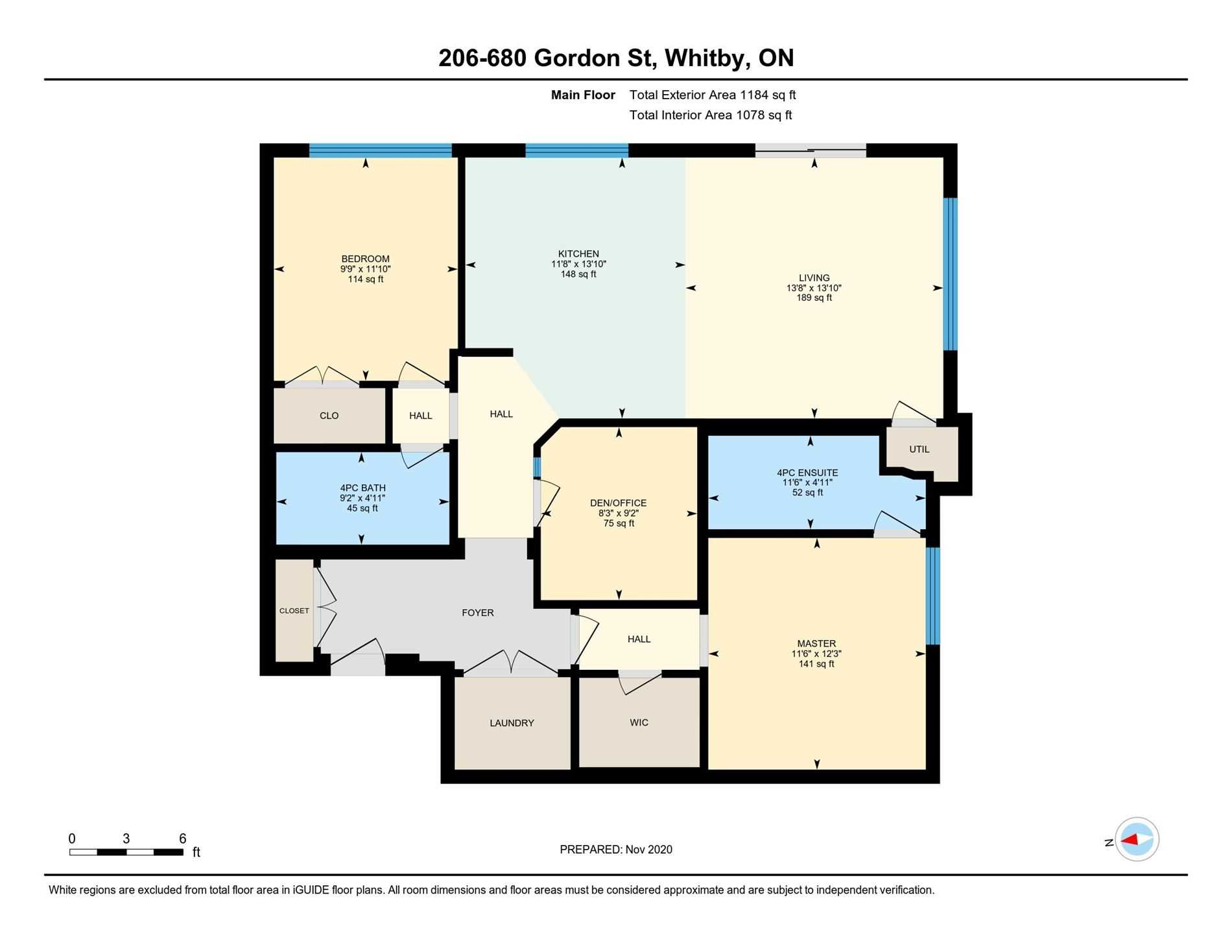 #206 - 680 Gordon St, Whitby