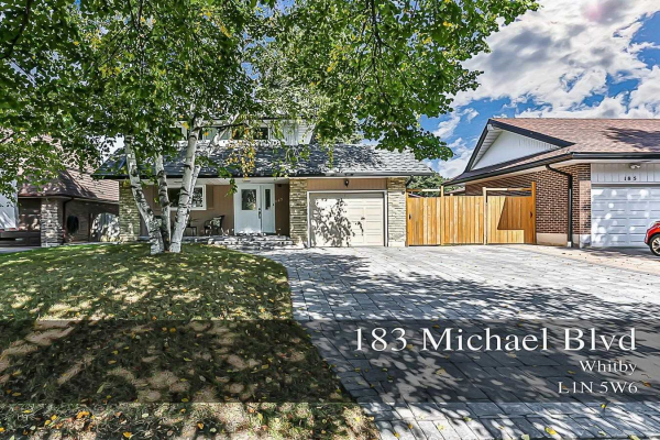 183 Michael Blvd, Whitby