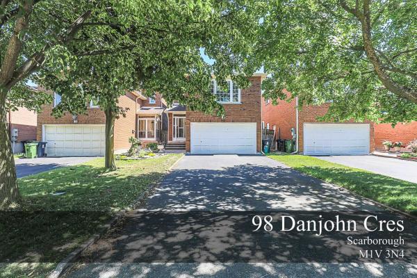 98 Danjohn Cres, Toronto
