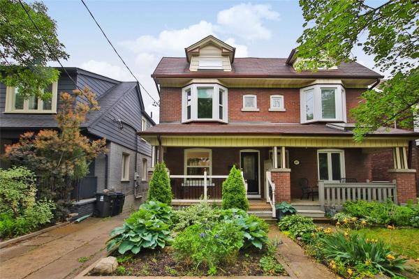 489 Strathmore Blvd, Toronto