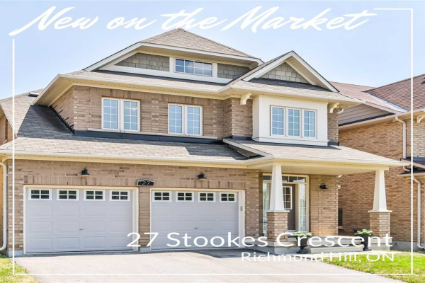27 Stookes Cres, Richmond Hill