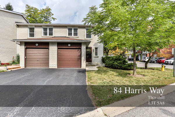 84 Harris Way, Markham