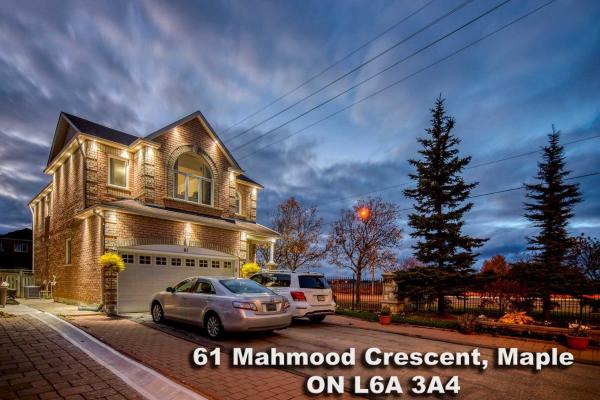 61 Mahmood Cres, Vaughan
