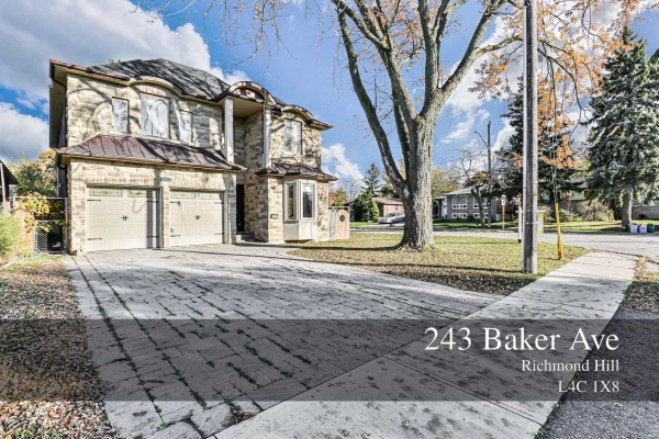 243 Baker Ave, Richmond Hill