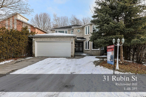 31 Rubin St, Richmond Hill