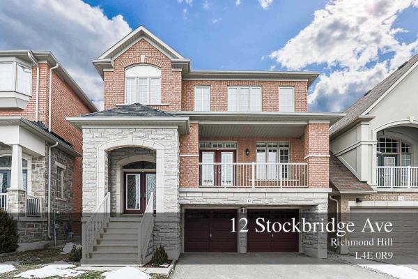 12 Stockbridge Ave, Richmond Hill