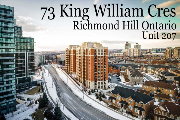 73 King William Cres, Richmond Hill