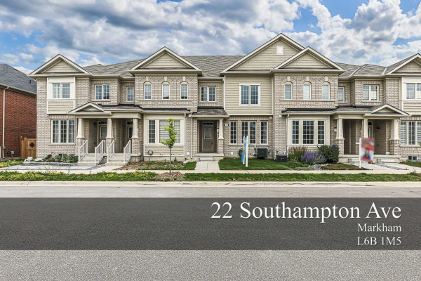 22 Southampton Ave, Markham