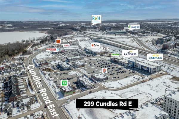 299 Cundles Rd E, Barrie