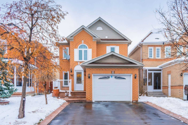 9 Wildberry Cres, Brampton, Peel