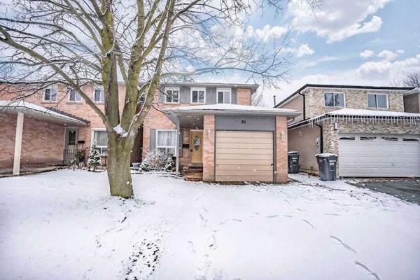 20 Royal Palm Dr, Brampton