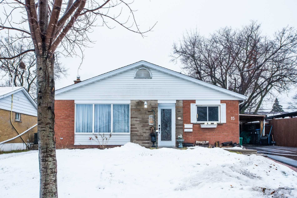 15 Fairfield Ave, Brampton
