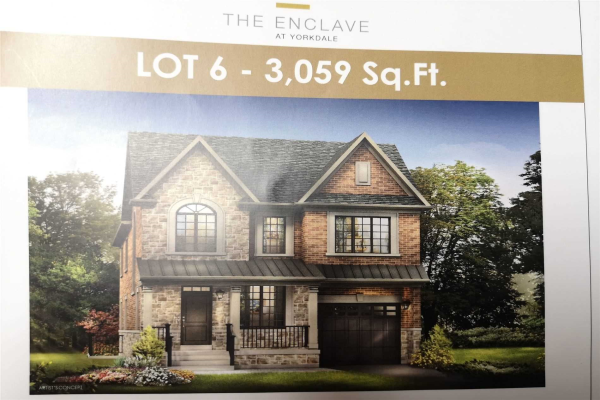 Lot 6 Newst Off Jane Osler Rd, Toronto