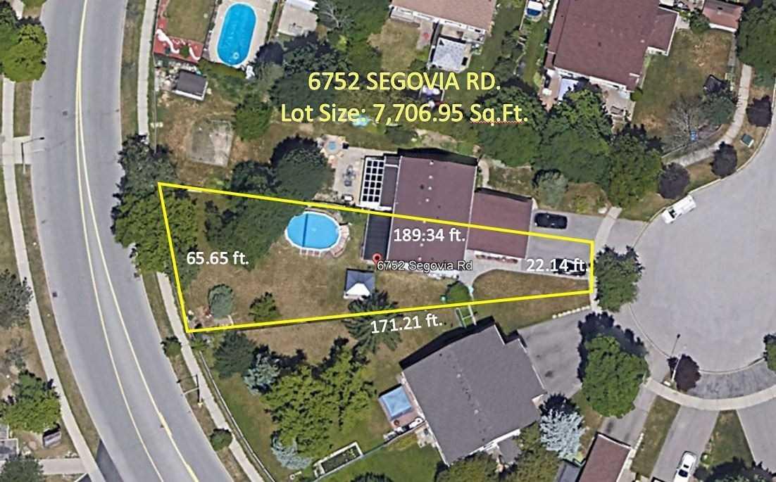 6752 Segovia Rd, Mississauga