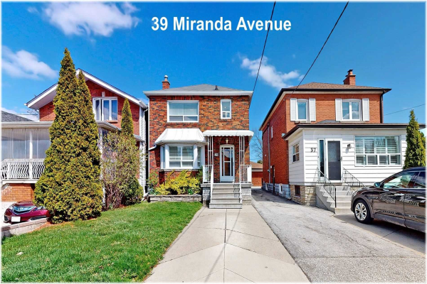 39 Miranda Ave, Toronto