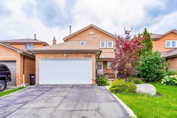 5502 Bourget Dr, Mississauga